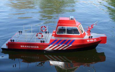 Naam Schip: Jilles Naam Eigenaar: Casper  Omschrijving: Brandweerboot